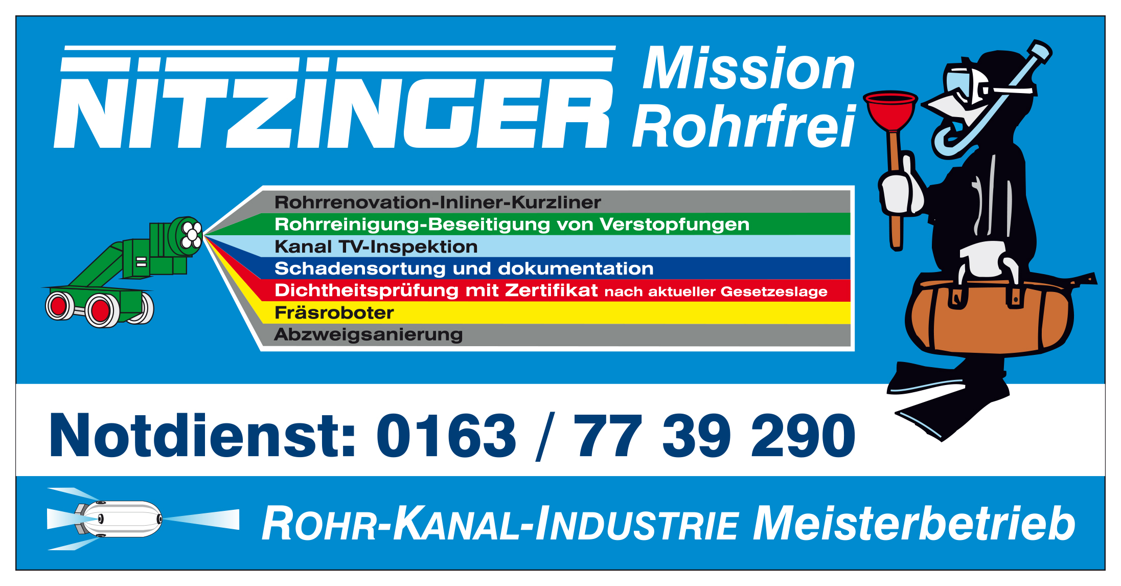 Mission Rohrfrei - Andreas Nitzinger